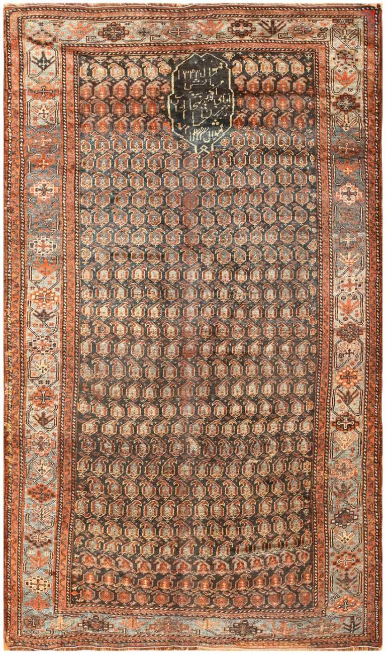 Antique Ghashgai Persian Rug 50213 Nazmiyal