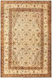 Antique Indian Amritsar Carpet 50225 Nazmiyal