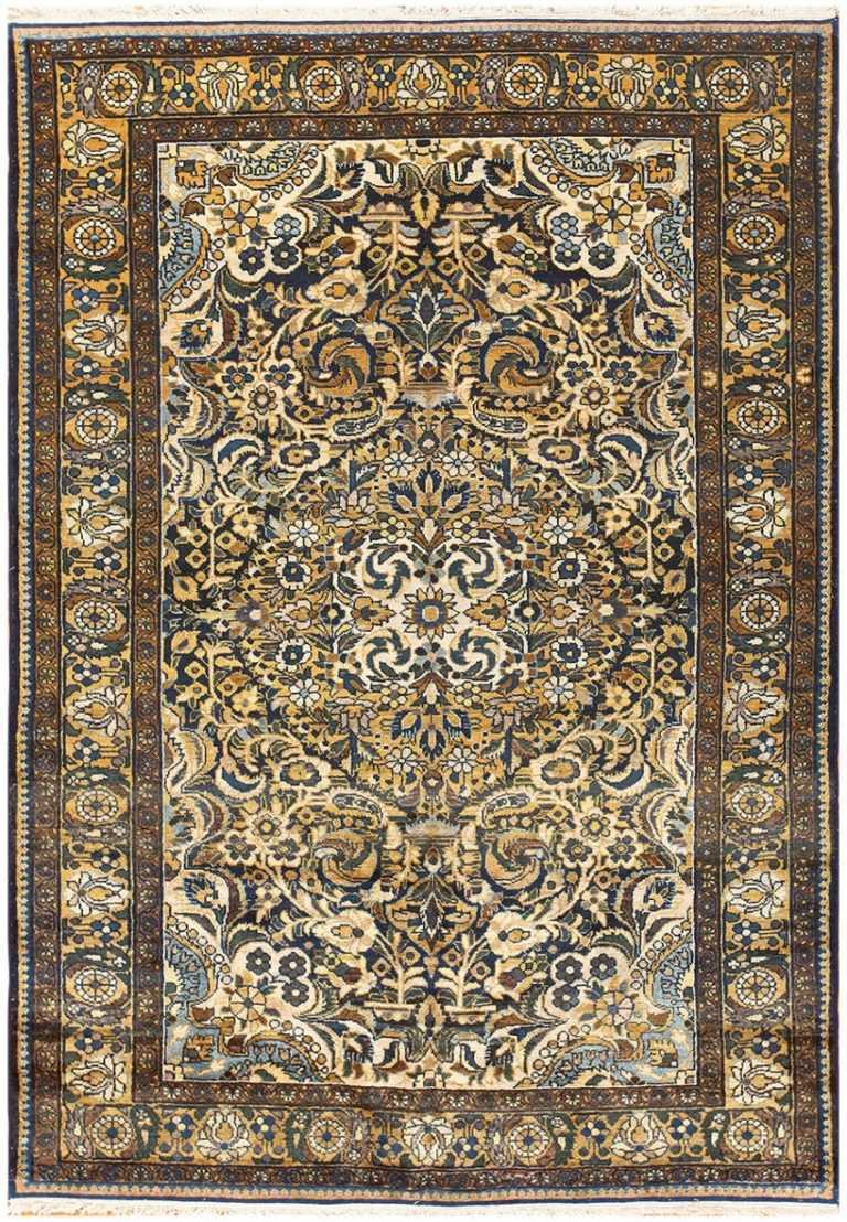 Antique Malayer Persian Carpet 50212 Nazmiyal