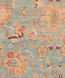 Antique Oushak Carpets by Nazmiyal