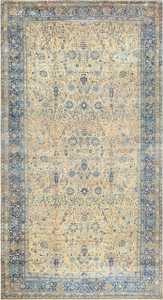 Antique Oversized Persian Kerman Carpet 50113 - From Nazmiyal Antique Rugs in NYC