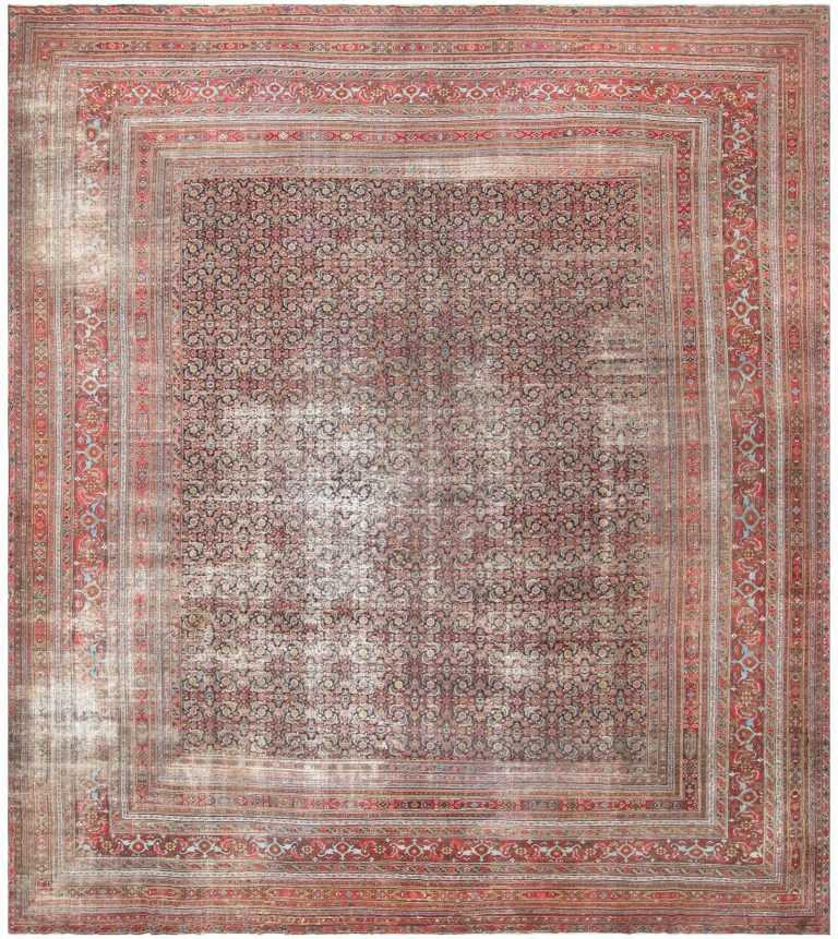 Antique Shabby Chic Persian Khorassan Carpet 50017 Large Image