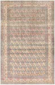 Antique Persian Tehran Carpet 50098 Nazmiyal