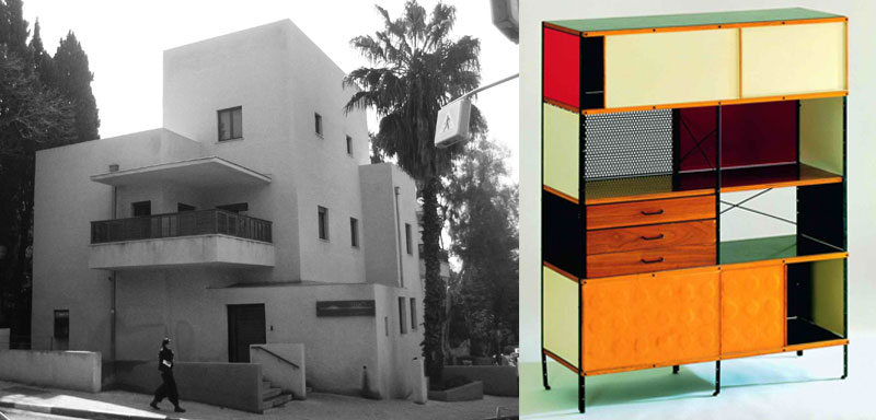 Bauhaus style architecture, and Bauhaus dresser. Nazmiyal Blog