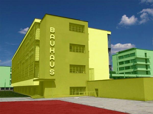 The Bauhaus School Of Design by Nazmiyal