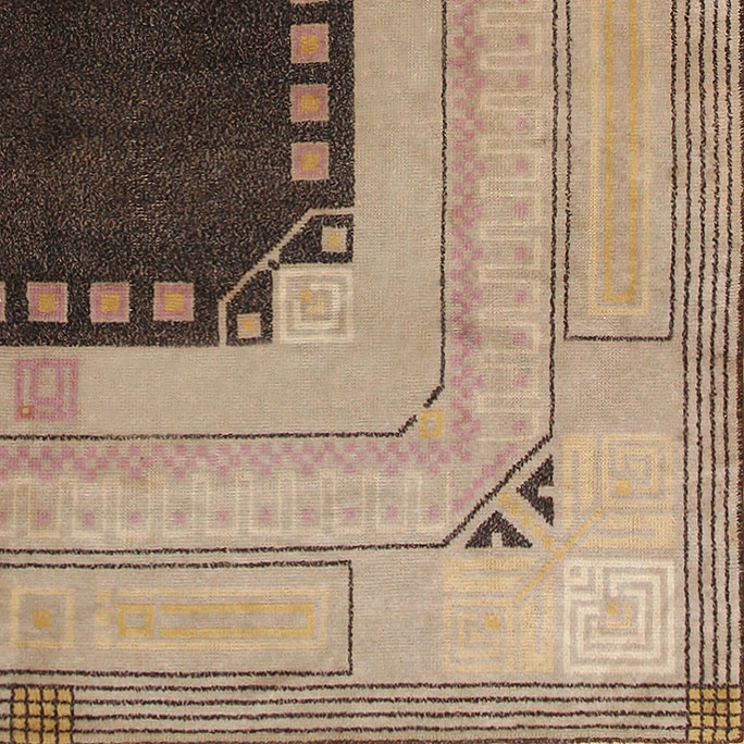 Detail of Art Deco Carpet 48433 at Nazmiyal