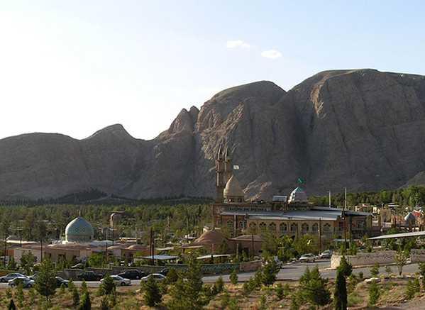 Photo of Kerman Region in Iran, Nazmiyal Collection