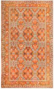 Oversized Antique Turkish Oushak Carpet 48371 Nazmiyal