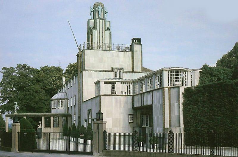 The Palais Stoclet, designed by Josef Hoffmann at Nazmiyal