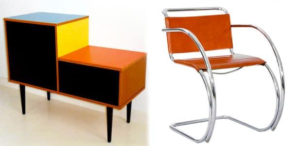 Scandinavian Design Bauhaus Furniture by Nazmiyal