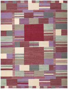 Swedish Inspired Carpet 48479 Nazmiyal