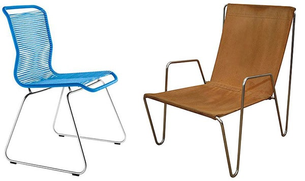Tivoli Chair and Bachelor Chair by Verner Panton Picture