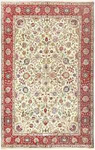 Vintage Tabriz Persian Carpet 50224 Nazmiyal