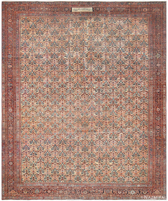 19th Century Persian Farahan Carpet 50116 Nazmiyal
