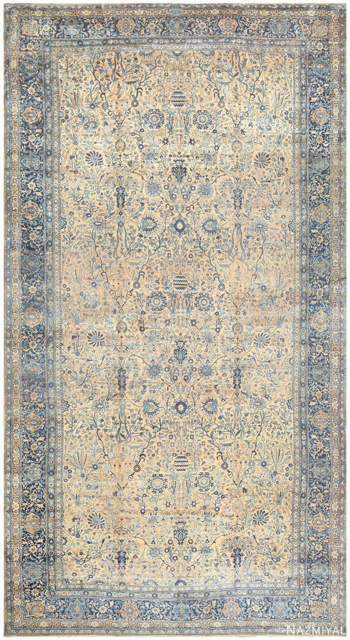 19th Century Persian Kerman Carpet 50113 Nazmiyal
