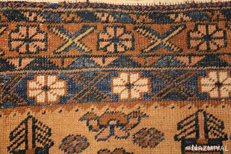 antique afshar persian rug 50045 border Nazmiyal