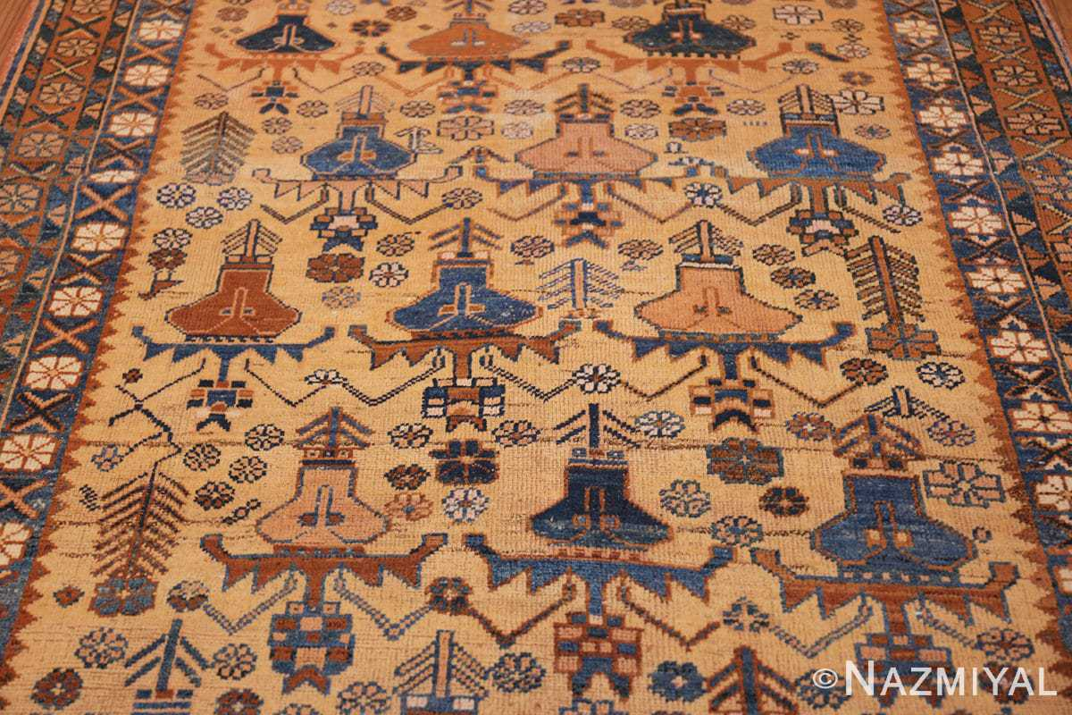 antique afshar persian rug 50045 field Nazmiyal