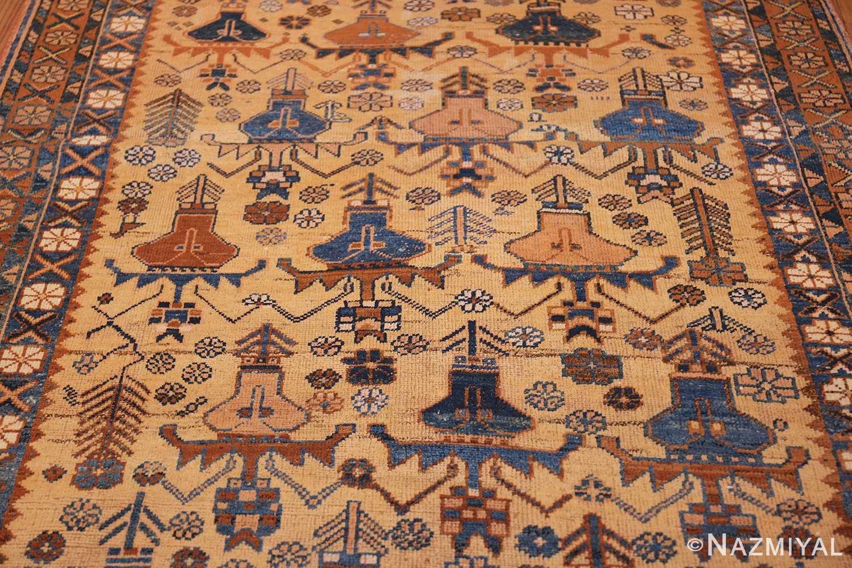 antique afshar persian rug 50045 field Nazmiyal