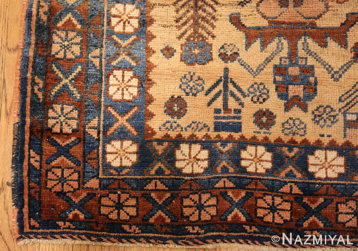 antique afshar persian rug 50045 part Nazmiyal