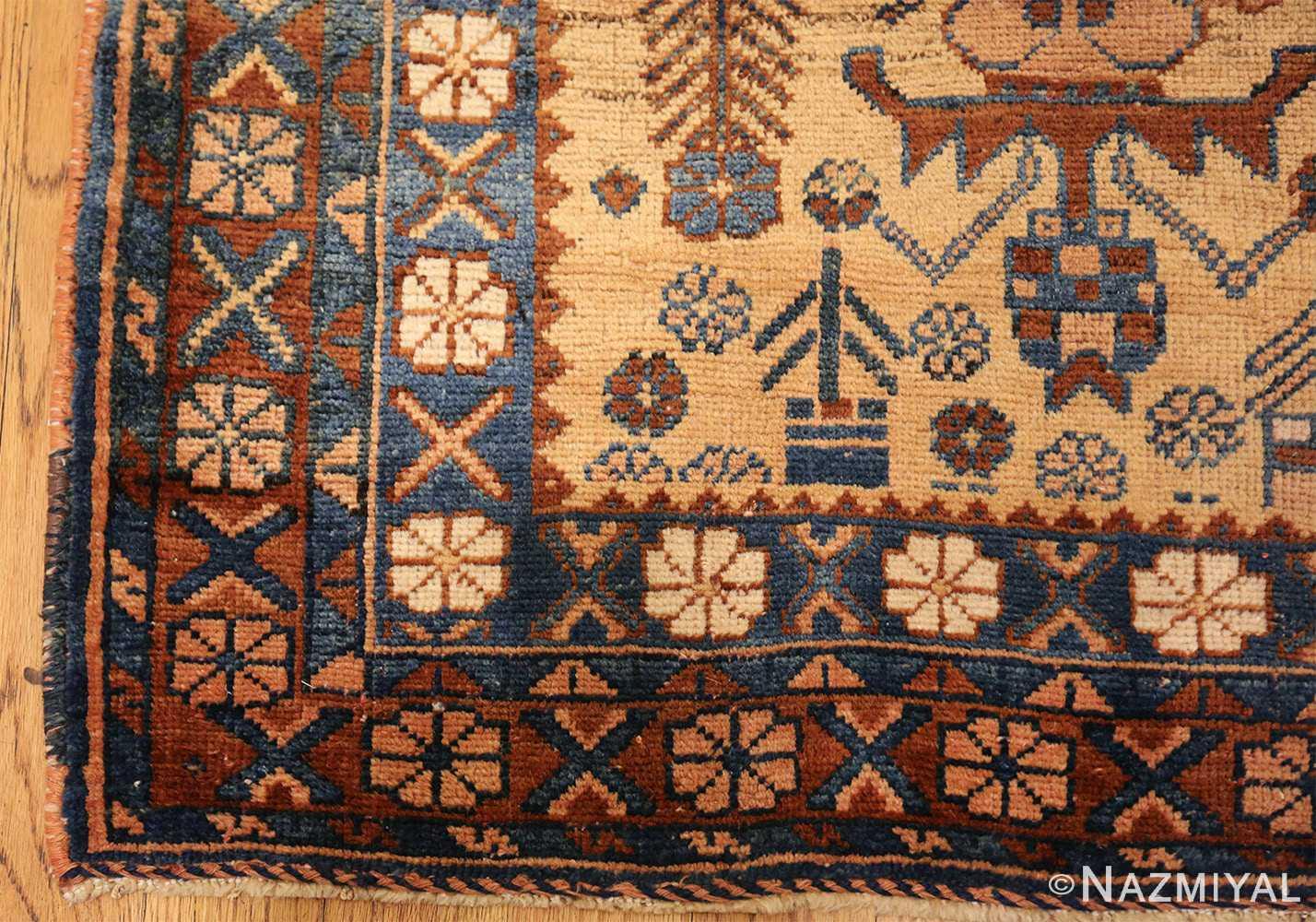 antique afshar persian rug 50045 part Nazmiyal