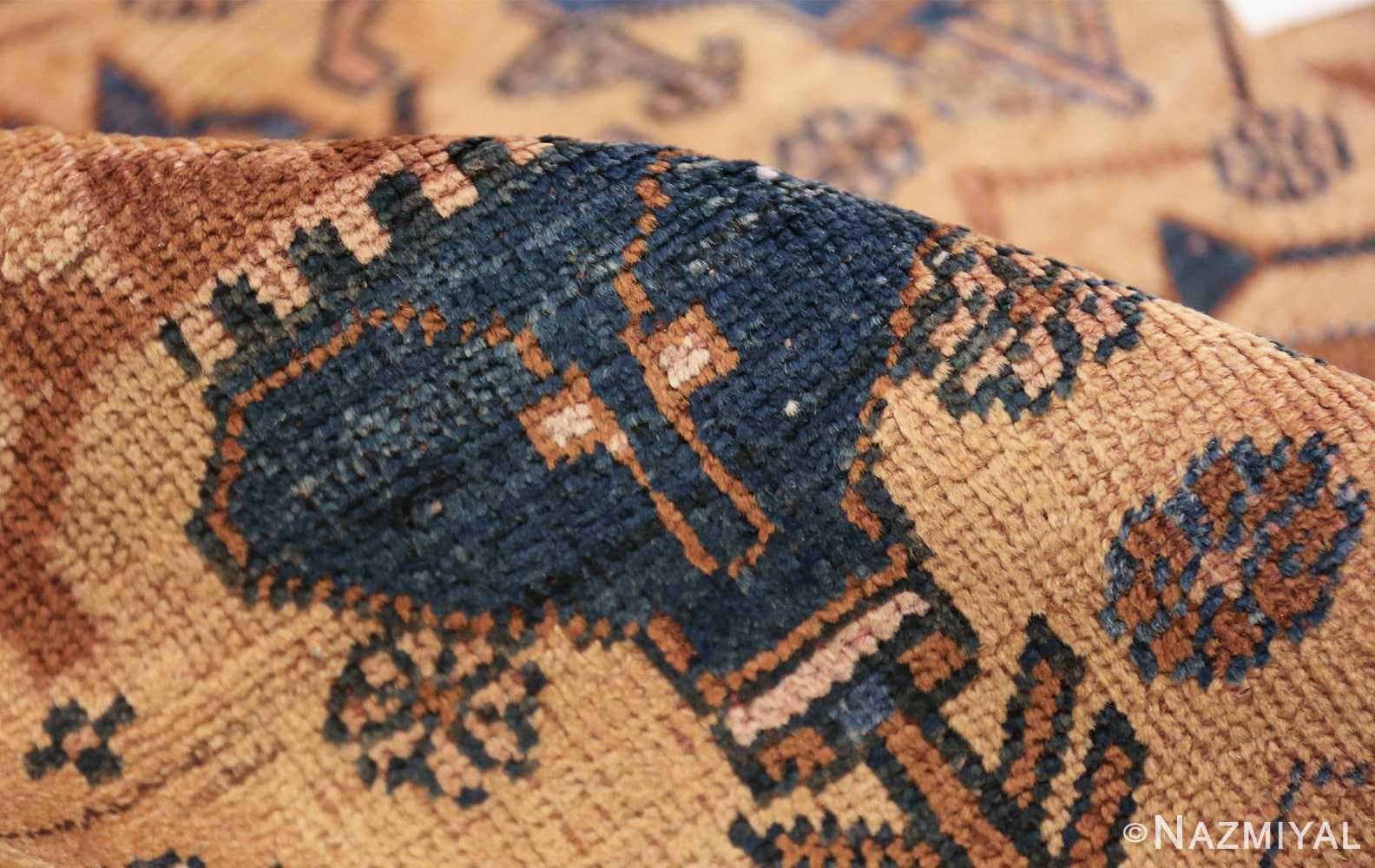 antique afshar persian rug 50045 pile Nazmiyal