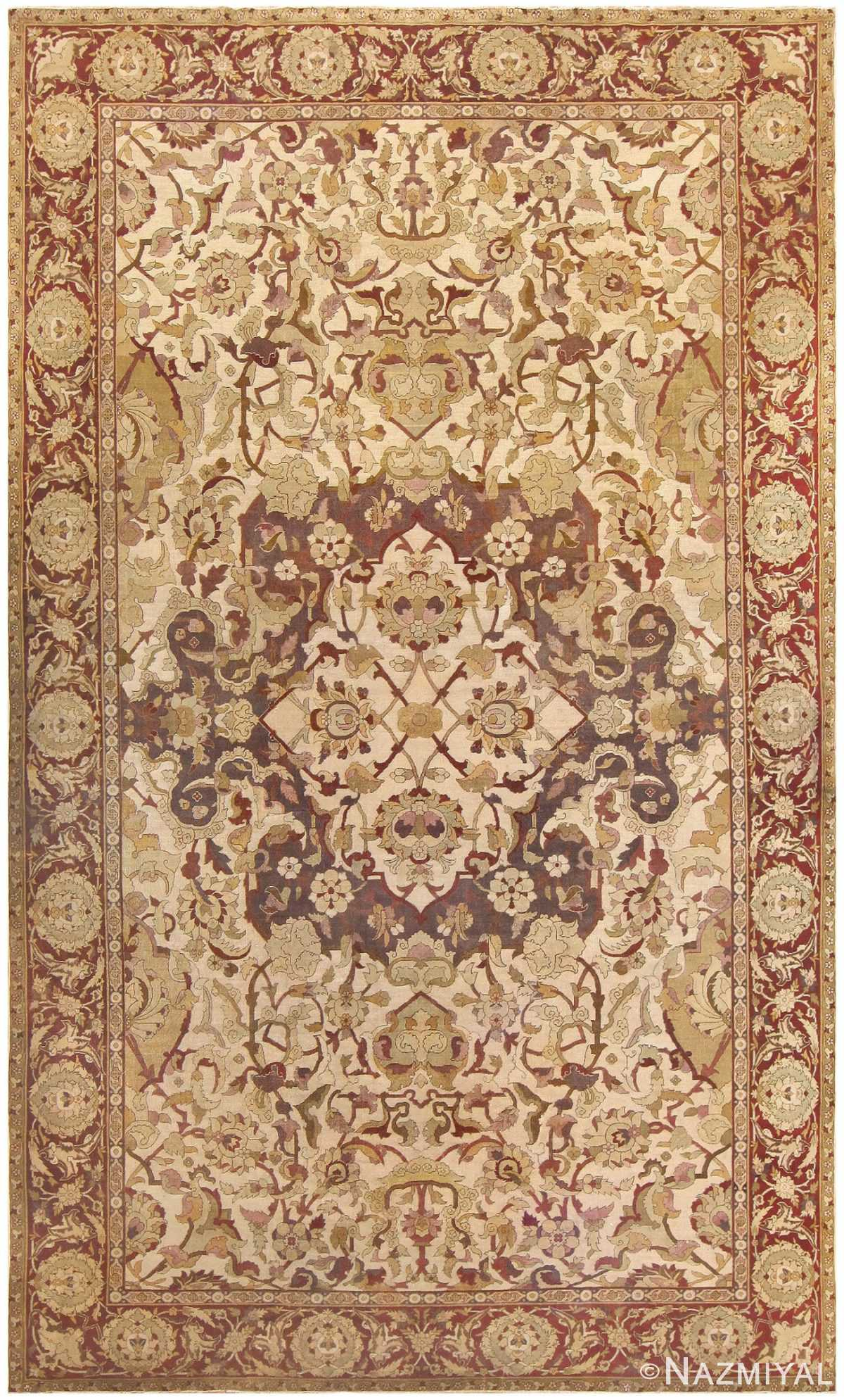 Antique Amritsar Indian Carpet 50201 Nazmiyal