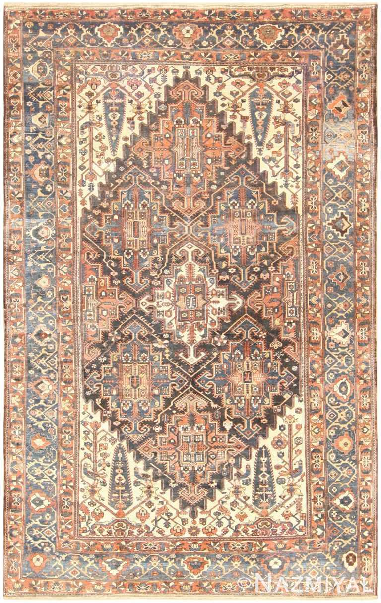 Antique Bakhtiari Persian Carpet 50136 Nazmiyal