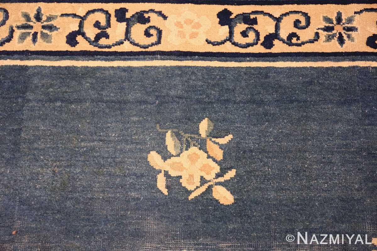 antique blue chinese rug 50148 top Nazmiyal
