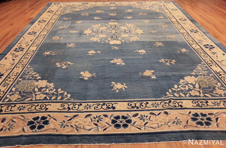 antique blue chinese rug 50148 whole Nazmiyal