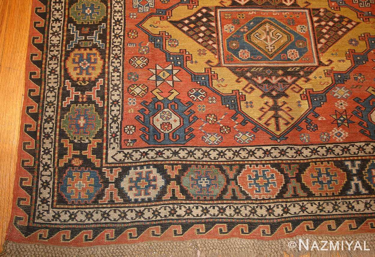 antique caucasian soumak rug 48470 border Nazmiyal