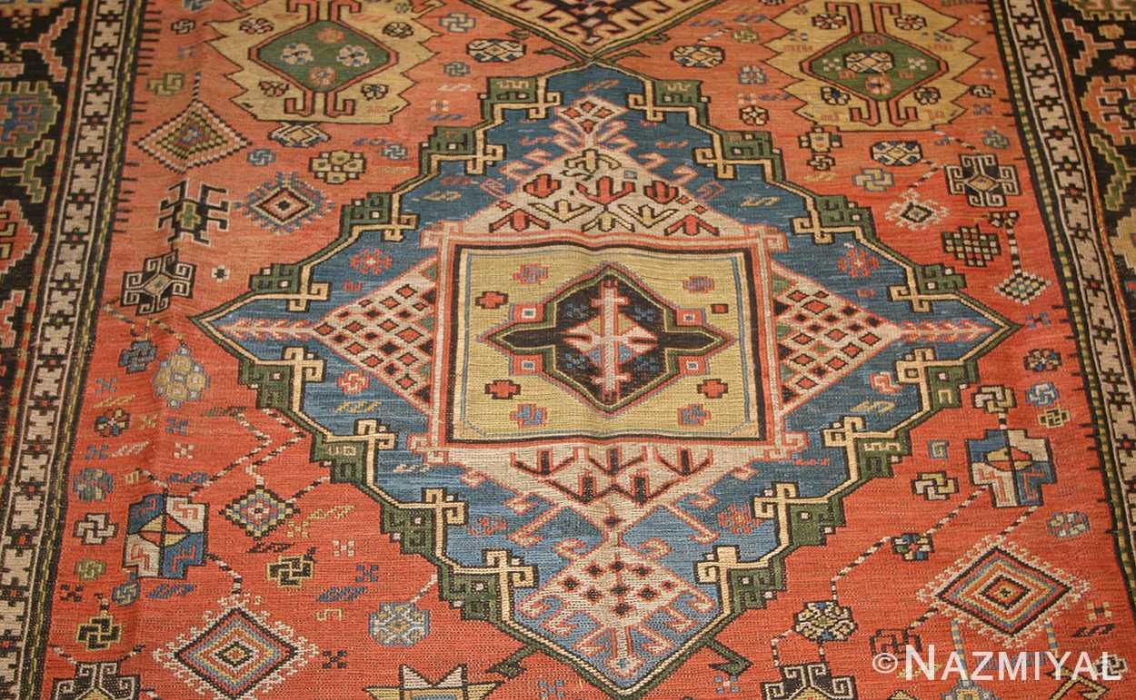 antique caucasian soumak rug 48470 field Nazmiyal