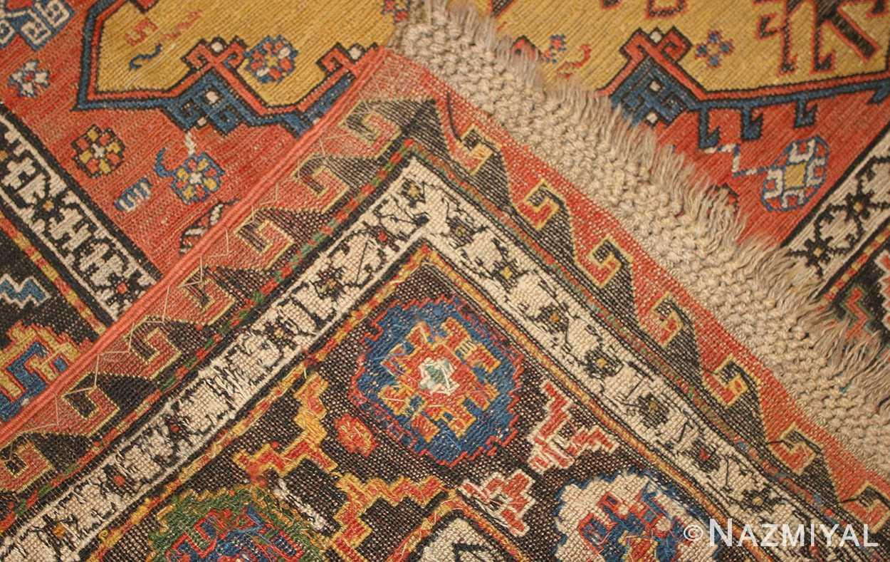 antique caucasian soumak rug 48470 weave Nazmiyal