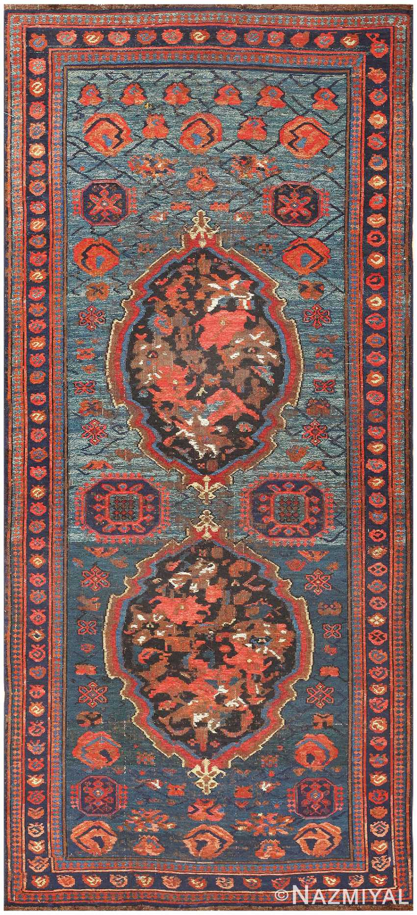 Antique Caucasian Soumak Rug 50006 Detail Large View
