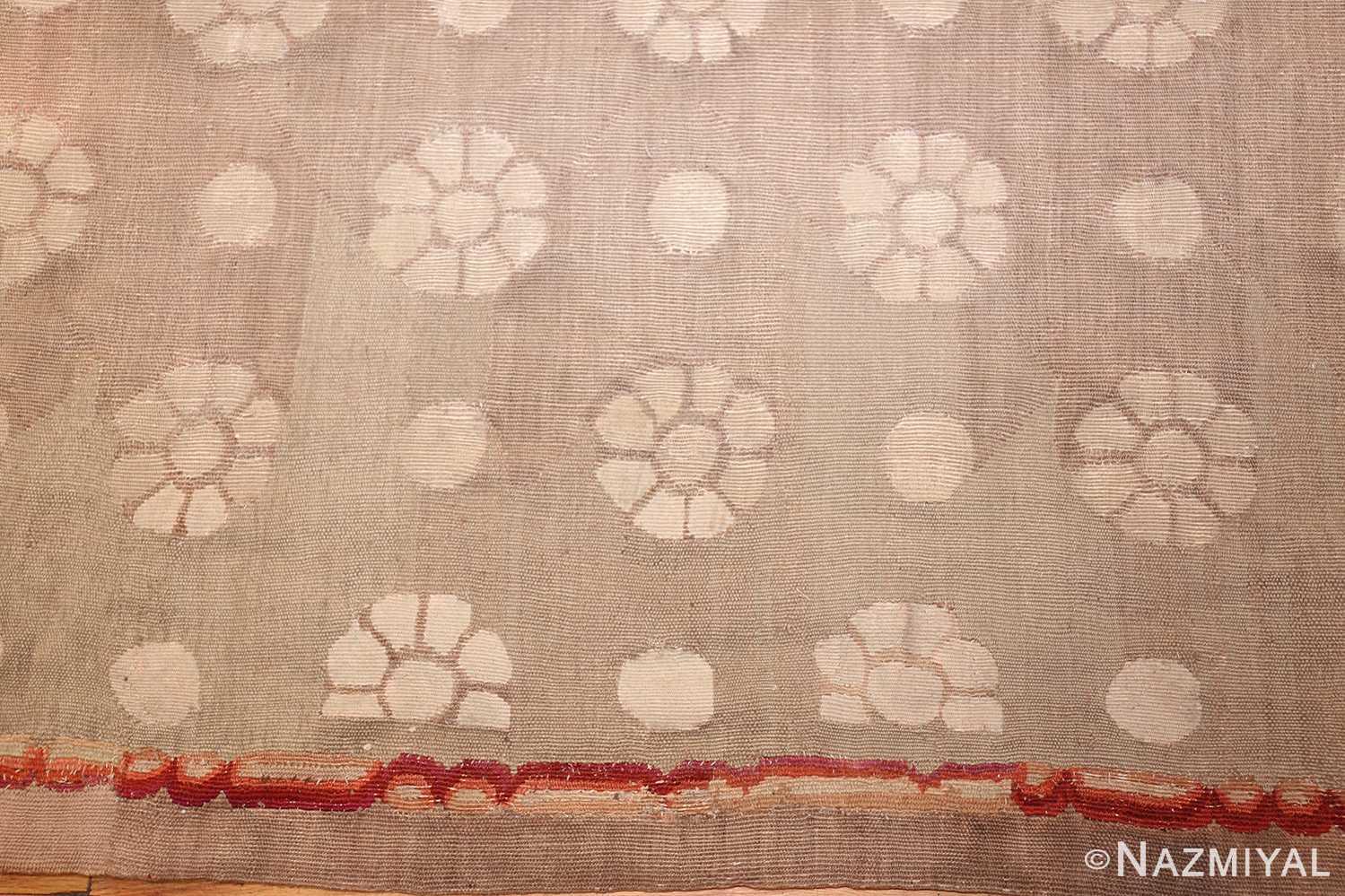 antique charles the x french aubusson rug 50171 border Nazmiyal