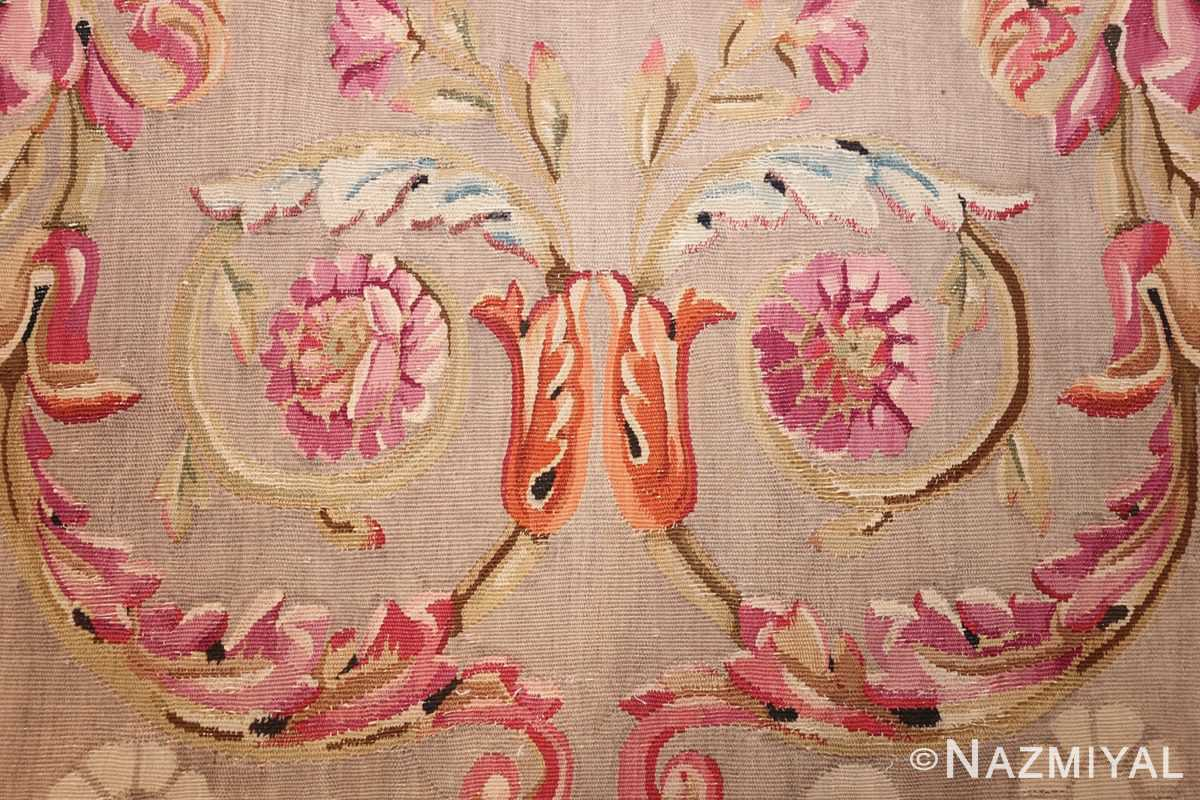 antique charles the x french aubusson rug 50171 scroll Nazmiyal