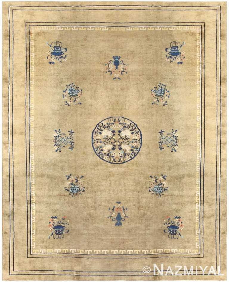 Antique Chinese Carpet 50096 Detail Large View