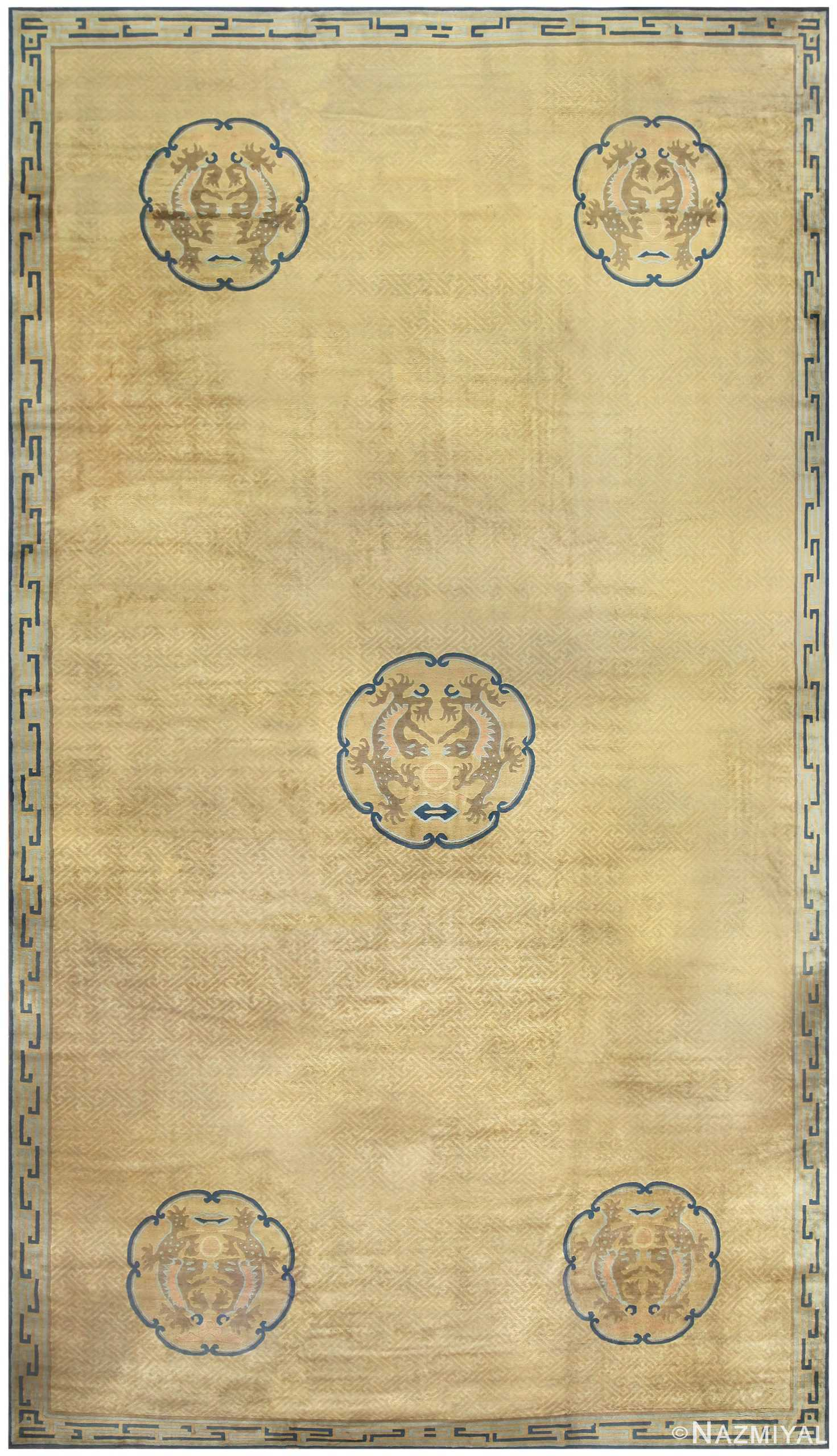 Antique Chinese Carpet 50114 Detail/Large View