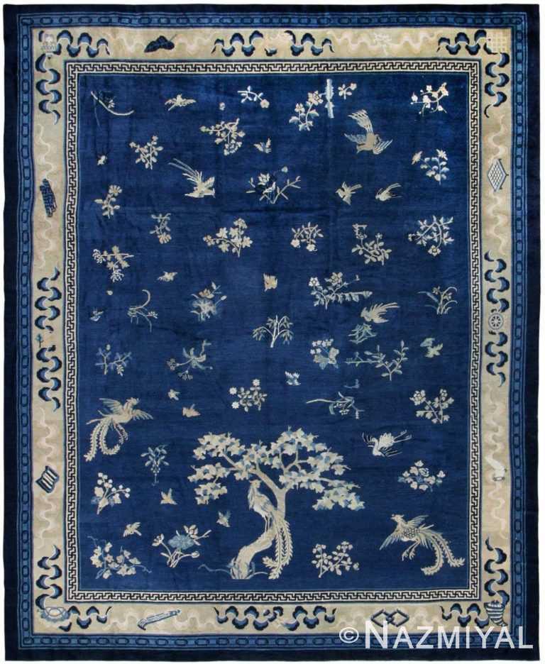 Antique Chinese Oriental Rug 42750 Nazmiyal