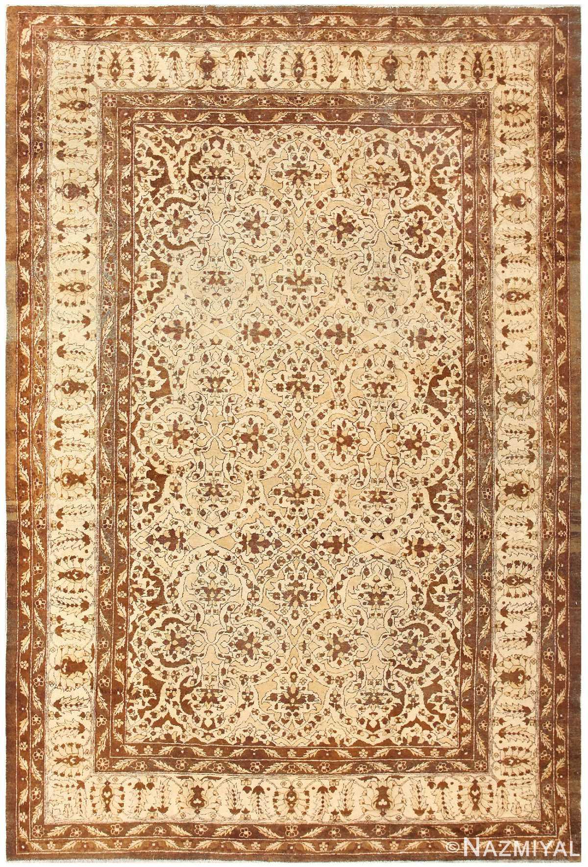 Antique Indian Amritsar Carpet 50225 Nazmiyal