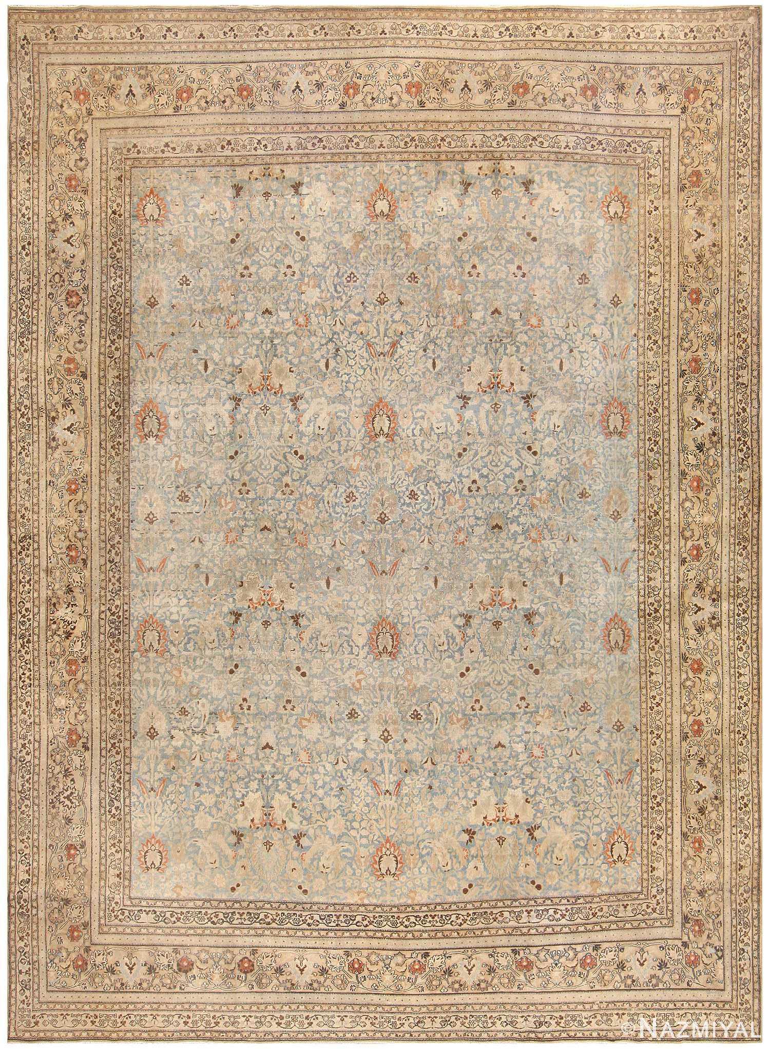 Antique Khorassan Persian Carpet 46929 Nazmiyal