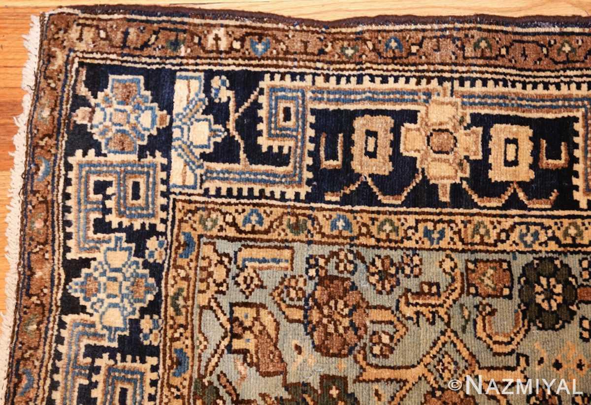 antique malayer persian carpet 50204 corner Nazmiyal
