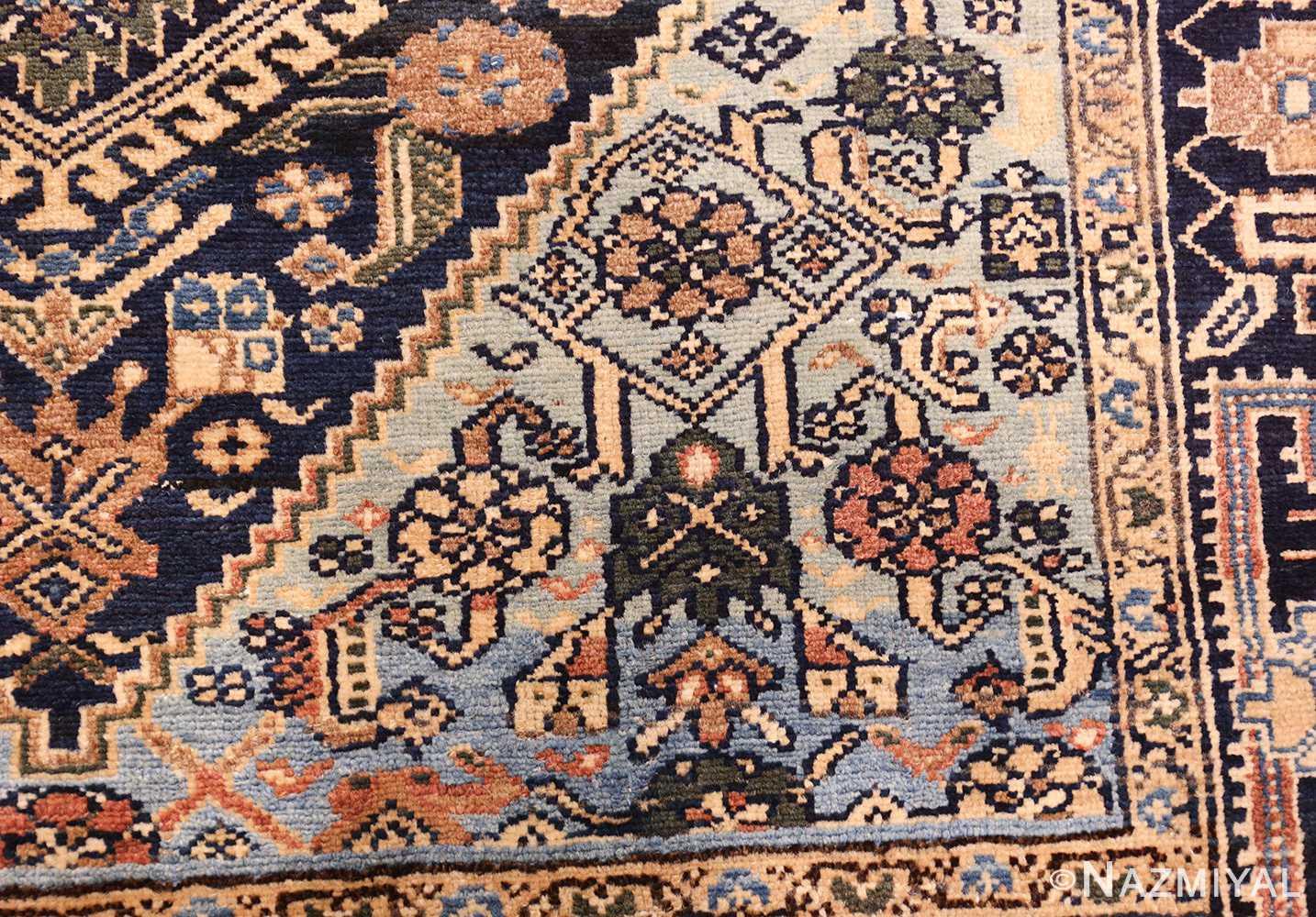 antique malayer persian carpet 50204 design Nazmiyal