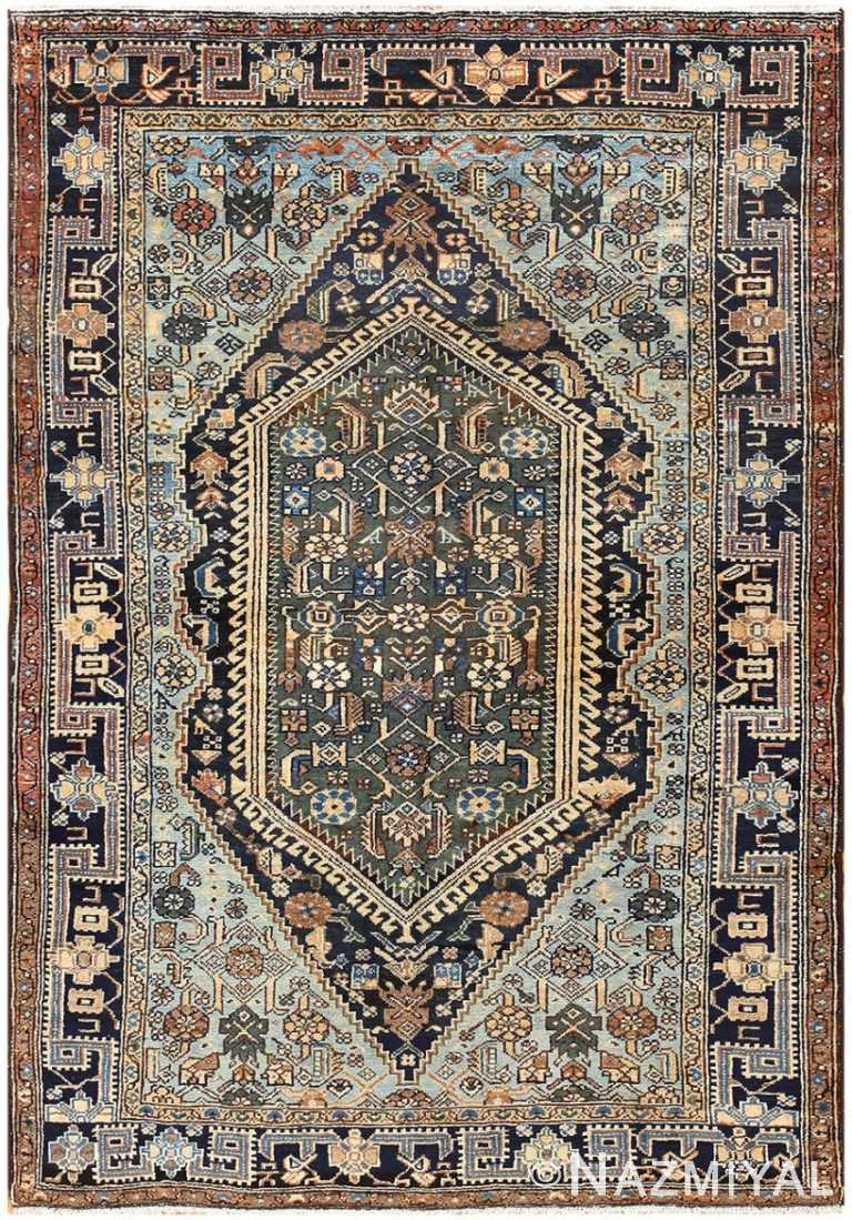 Antique Malayer Persian Carpet 50204 Nazmiyal