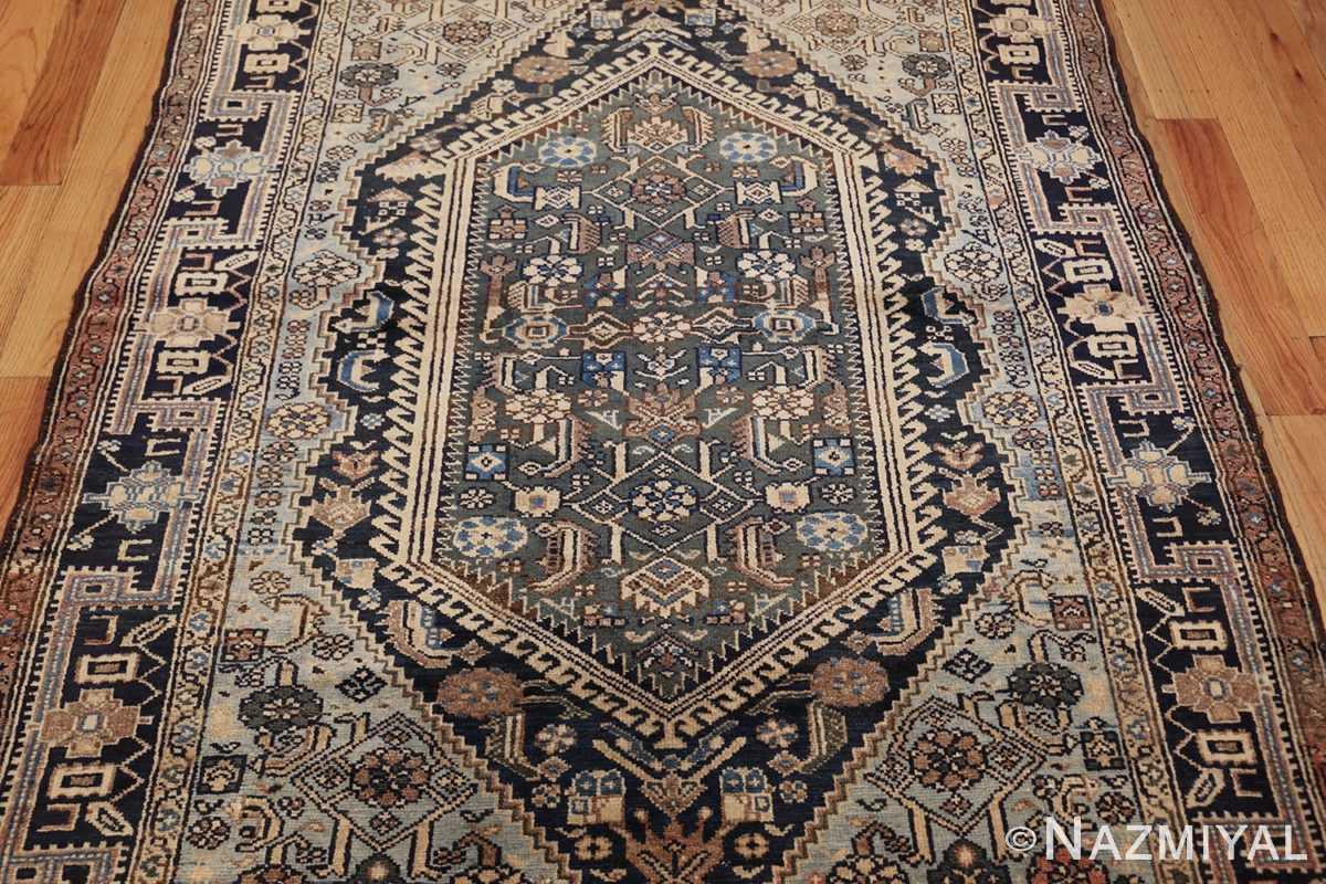 antique malayer persian carpet 50204 medallion Nazmiyal