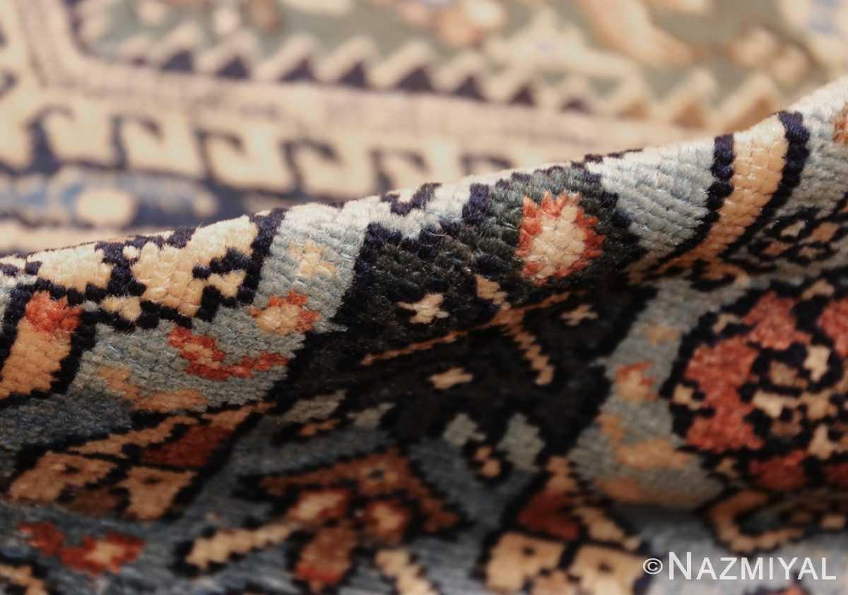 antique malayer persian carpet 50204 pile Nazmiyal