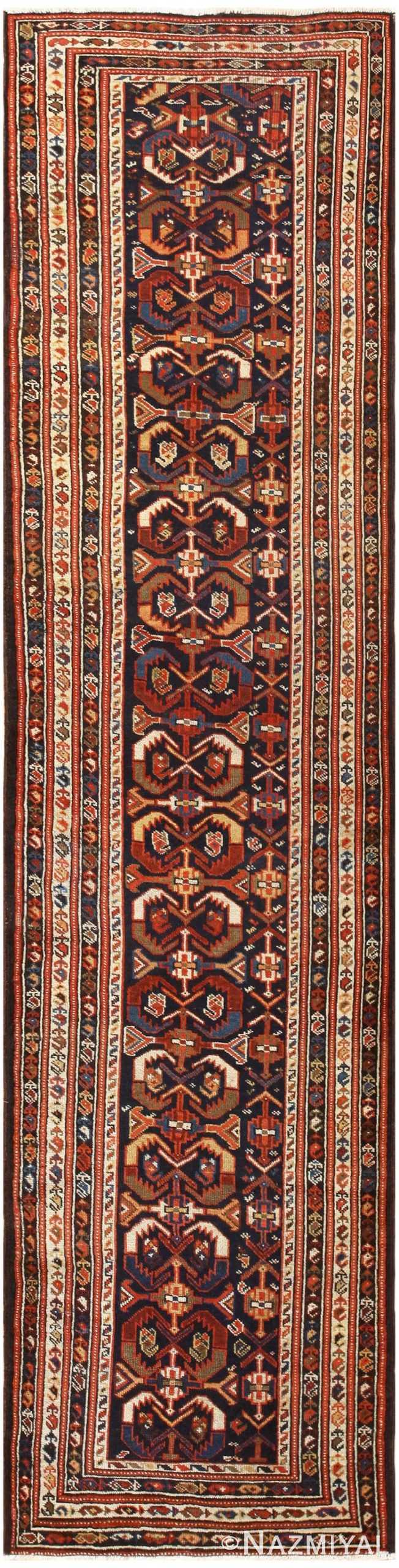 Antique Malayer Persian Runner Rug 48464 Nazmiyal