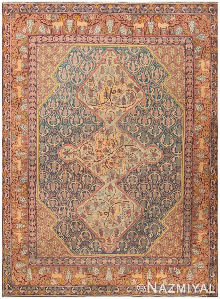 Antique Marbediah Israeli Carpet 47504 Nazmiyal