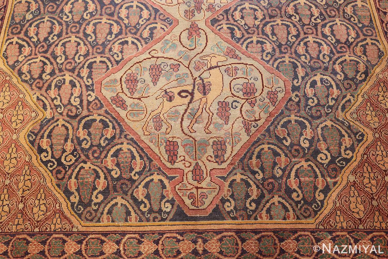 antique marbediah israeli carpet 47504 down Nazmiyal