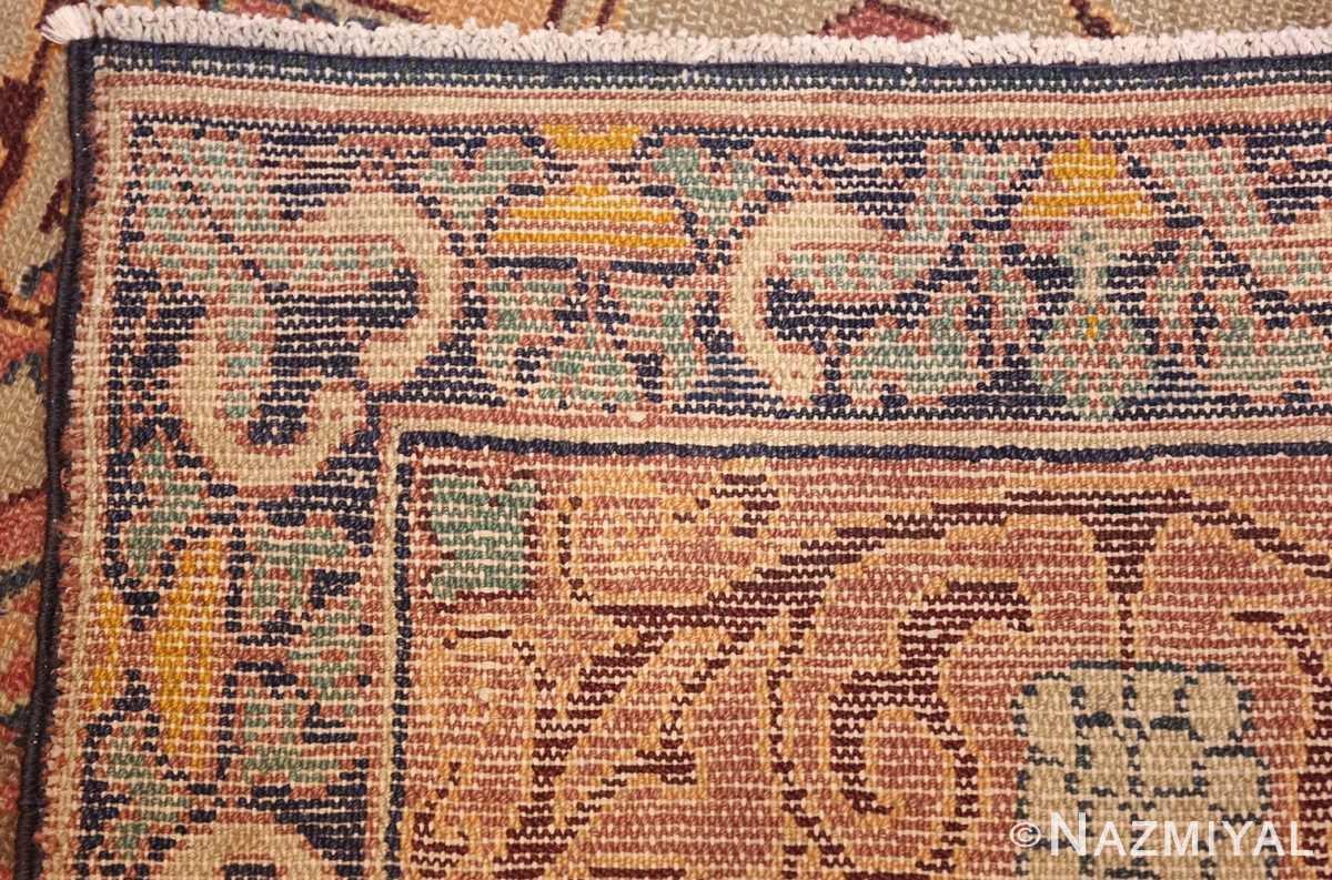antique marbediah israeli carpet 47504 weave Nazmiyal