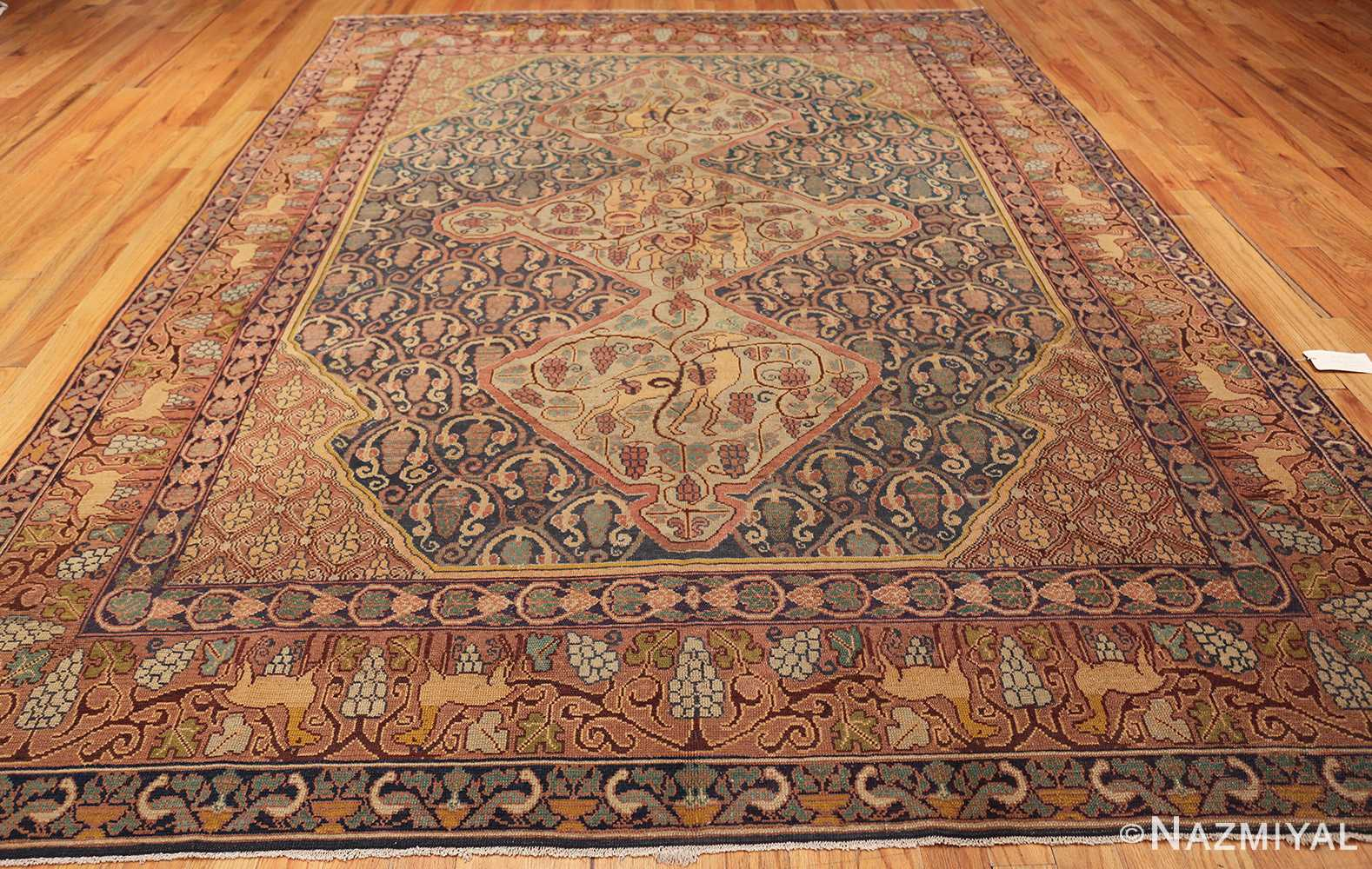 Antique Marbediah Israeli Carpet 47504 By Nazmiyal